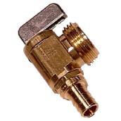 Angle ball valve