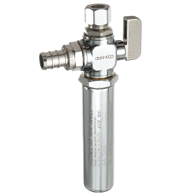 Straight Ball Valve with Water Hammer Arrester