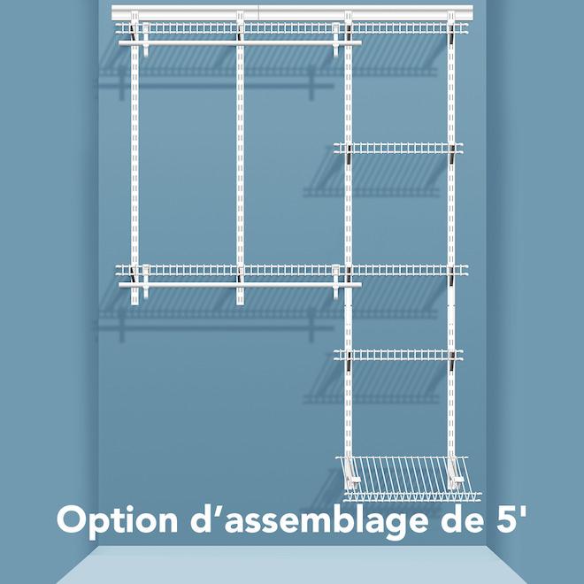 shelftrack organisateur pour garde robe 2875000 rona. Black Bedroom Furniture Sets. Home Design Ideas