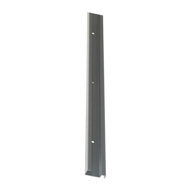 Rail horizontal « ShelfTrack » - 2 po x 40 po, nickel