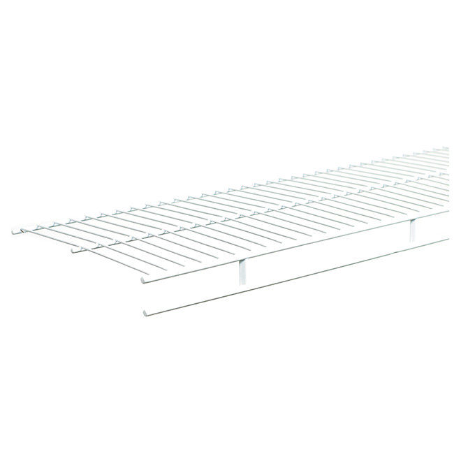 "ClosetMaid Vinyl Coated Steel Shelf - 12"" x 72"" x 2"" - White"