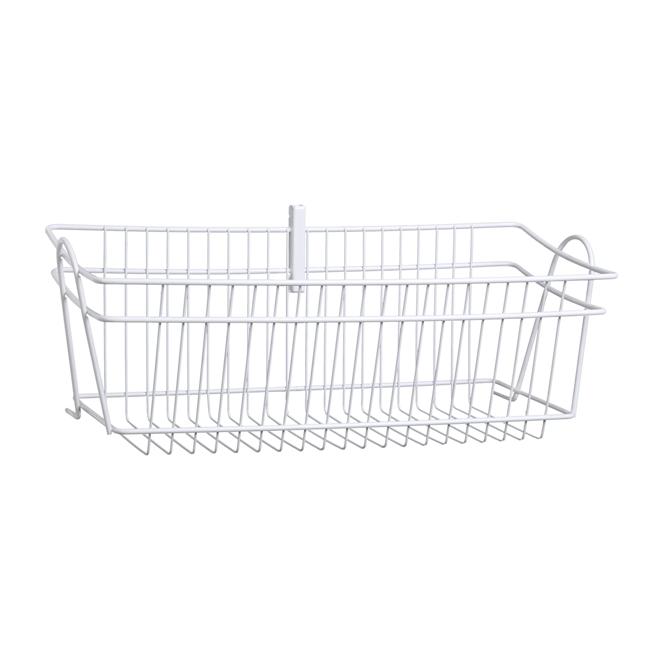 u0026quot shelftrack u0026quot  wire basket 8 7 u0026quot  x 19 5 u0026quot