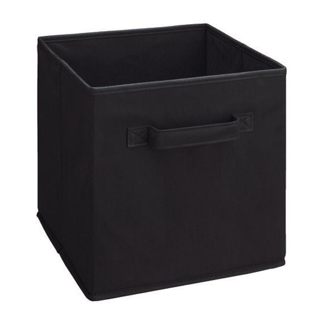 ClosetMaid Cubeicals Fabric Drawer - Black