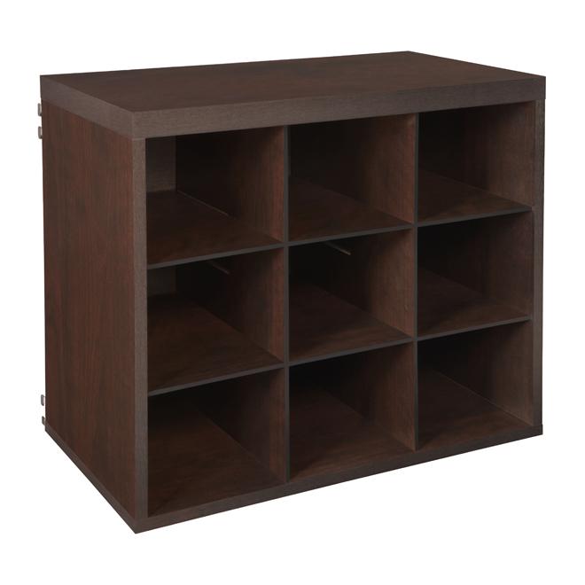 9-compartment cubic organizer