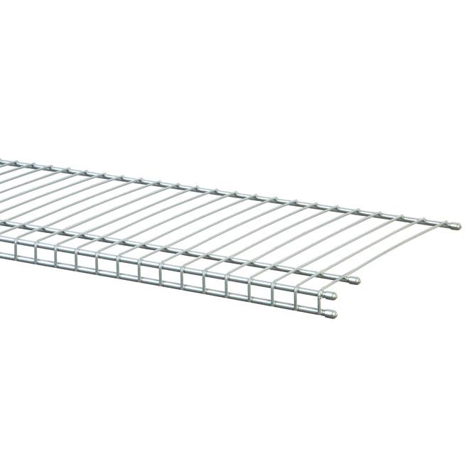 u0026quot super slide u0026quot  modular closet shelf - 72 u0026quot  x 16 u0026quot   vinyl tote511178