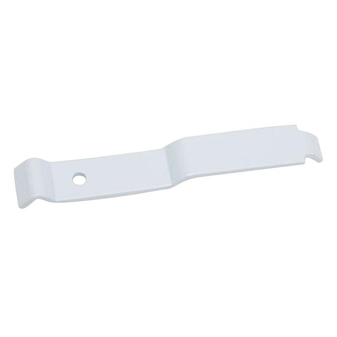 Montant d'angle pour tablette ClosetMaid, acier à revêtement d'époxy, 5 po l. x 3/8 po H. x 3/4 po p., blanc