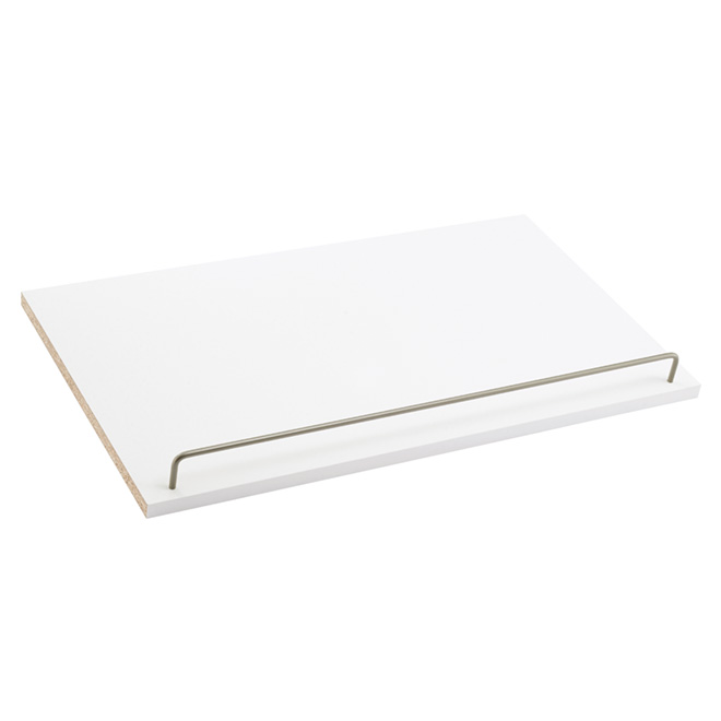 Set of 2 Shoe Shelves - White