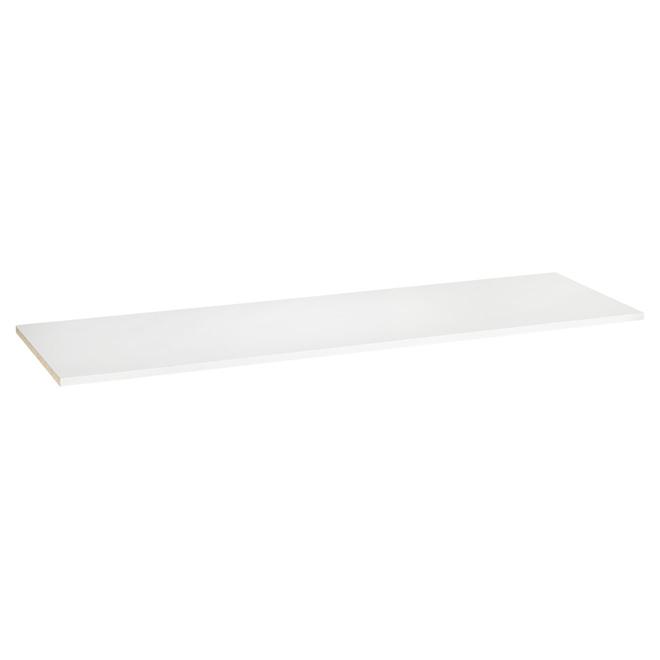 "Top Shelf - White - 48"""