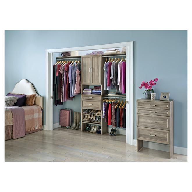 """Closet Organizer - 25"""" - Natural Grey"""