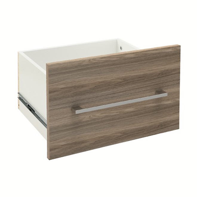 """SuiteSymphony(TM) Refined Laminated Wood Drawer - 15,38"""" x 13"""" x 10"""" - Natural Grey"""