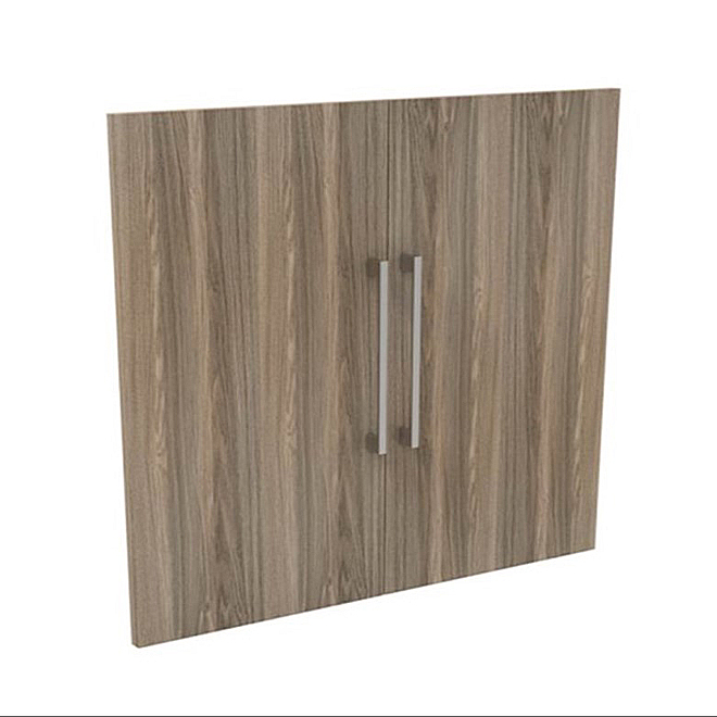 """Panneaux de portes, 25"""" x 30"""" x 0,63"""", gris naturel"""