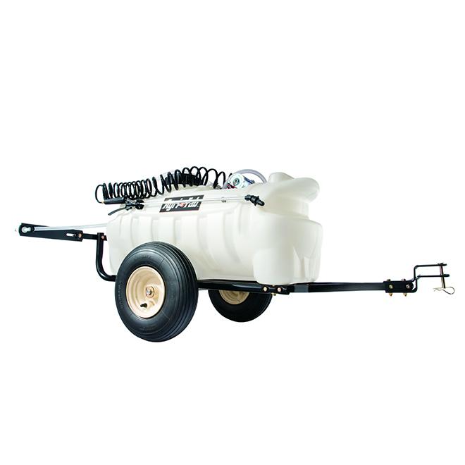 Pulvérisateur tractable, capacité de 25 gallons