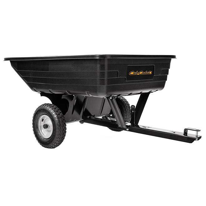 Cub Cadet Towable Cart - Polymer - 8 cu. ft - Black 19A40035100