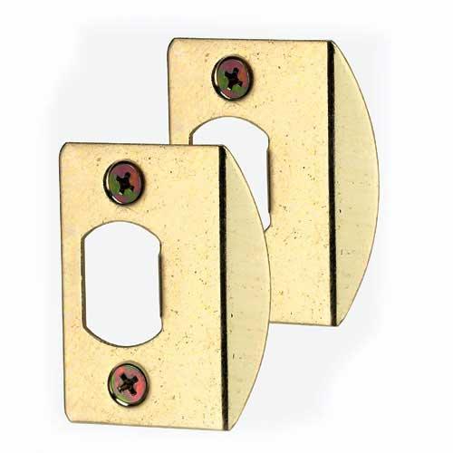 """Strike - 2 1/4""""  x 1 7/16'' - Brass"""