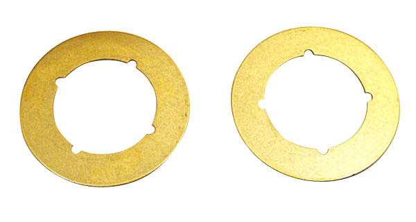 "Finishing Plate - Brass - 3 1/2"" - 2/Pack"