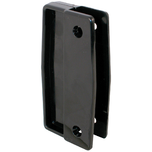 Sliding Screen Door Black Plastic Pull Set