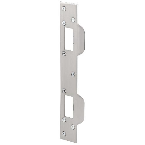 Gâche de sécurité Prime-Line, nickel satiné, acier, 1 5/8 po l. x 11 po L.