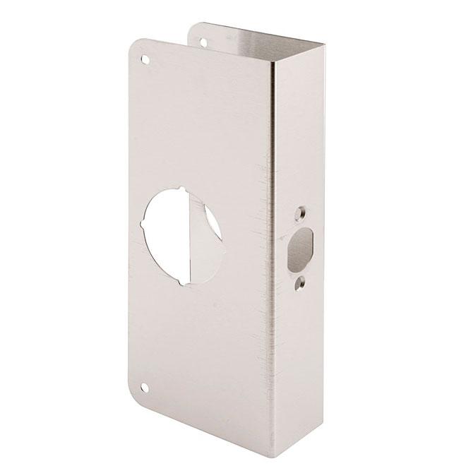 Armature de porte en acier inoxydable et laiton
