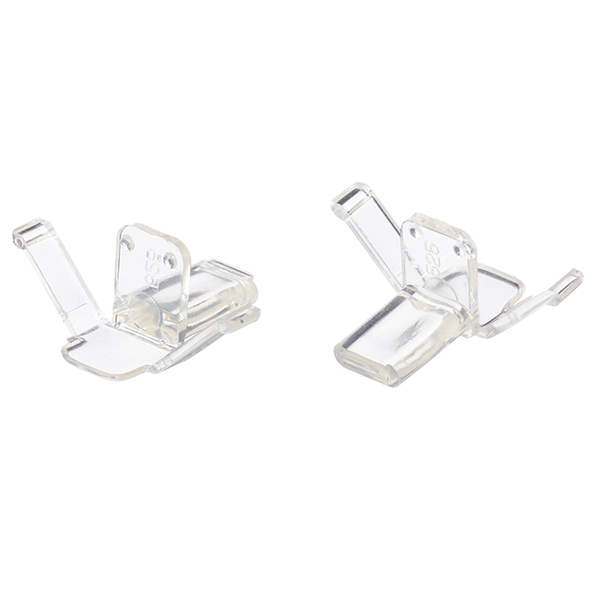 "Window Screen Retainer Clips - 1 5/8"" - Clear - 2-Pack"