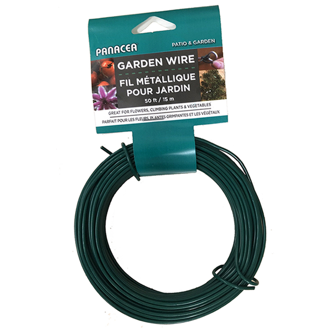 Plant Support Wire 50' - Green