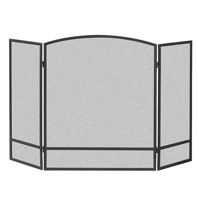 fireplace screen free metal francis garden product shipping today overstock home black