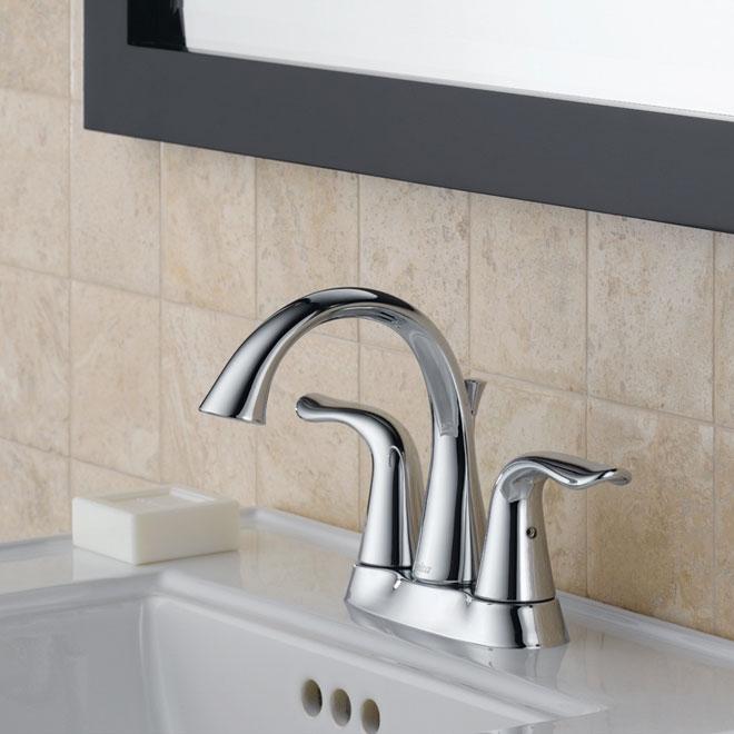 """Lahara"" 2-handle bathroom faucet"