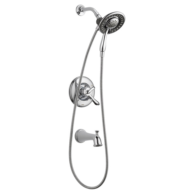 Delta 1 Handle Bath And Shower Faucet Linden 177494 Ic Rona