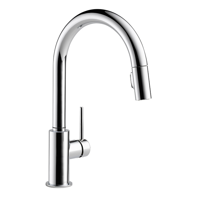 """""""Trinsic"""" Pull-Down Kitchen Faucet - Chrome"""