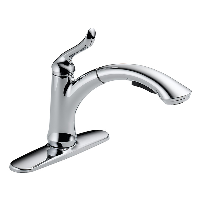 """""""Linden"""" Pull-Out Kitchen Faucet - Chrome"""