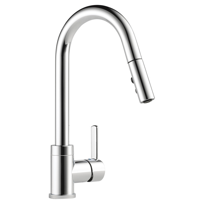 Pull-Down Kitchen Faucet - Chrome | RONA