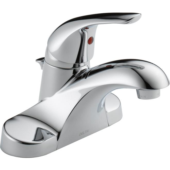 Delta Principals Centerset Bathroom Faucet - Metal Chrome