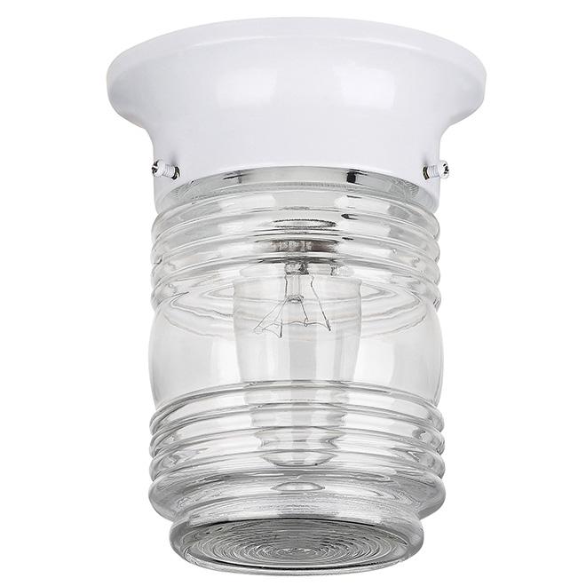 Luminaire d'extérieur avec globe de verre