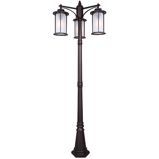 lampadaire ext rieur 3 t tes trenton rona. Black Bedroom Furniture Sets. Home Design Ideas
