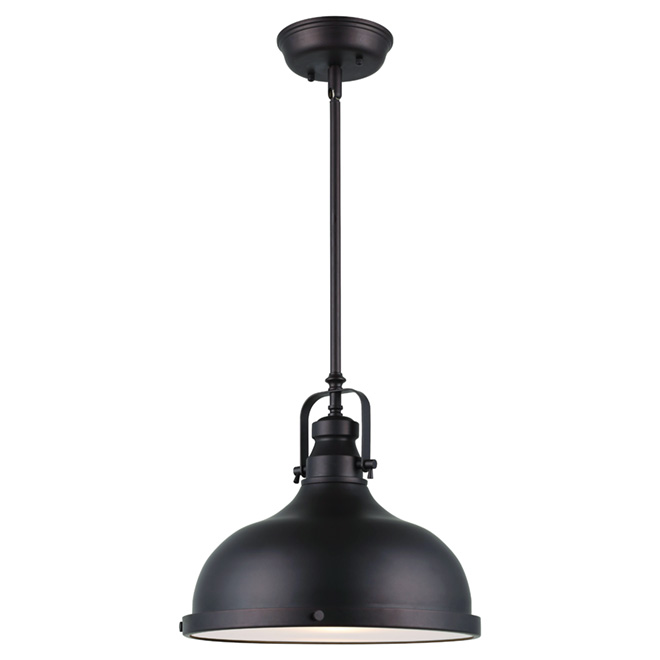 Pendant light 1 light marielle oiled bronze