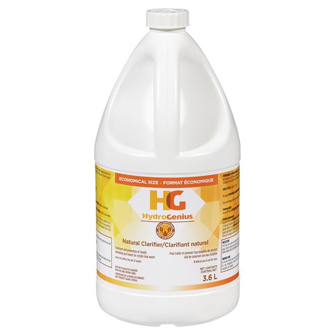 Clarifiant liquide pour piscine, 3,6 litres