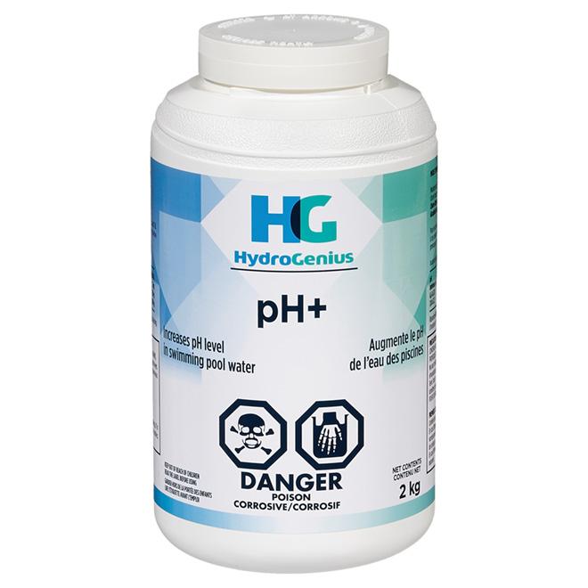 Renforçateur de pH pour piscine, 2 kg