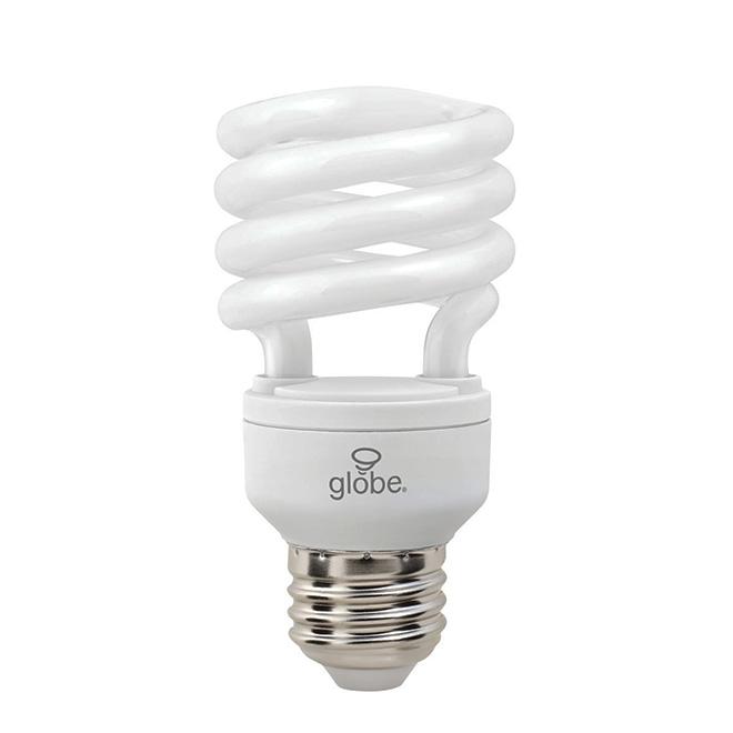 """""""Ultra Mini"""" 13-W CFL Spiral Lightbulb"""
