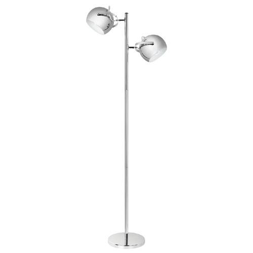 """Floor Lamp 60"""" - Chrome"""