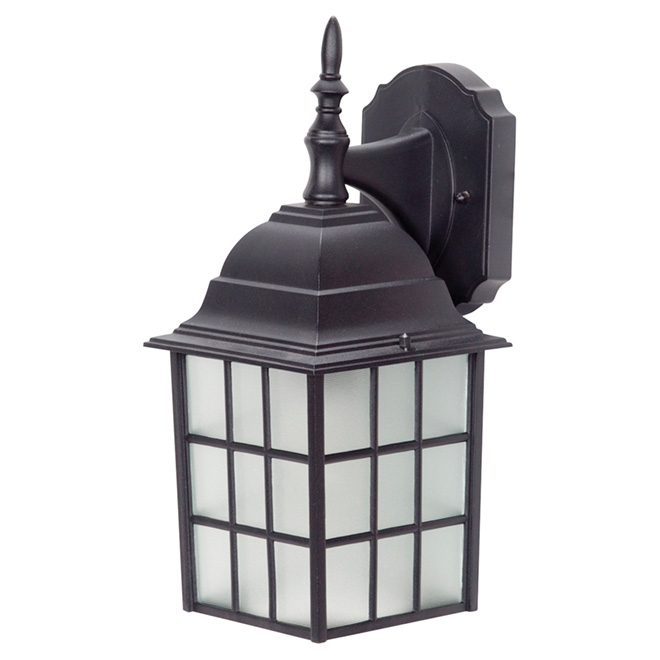 "Outdoor Lantern 13.75"" - Black"