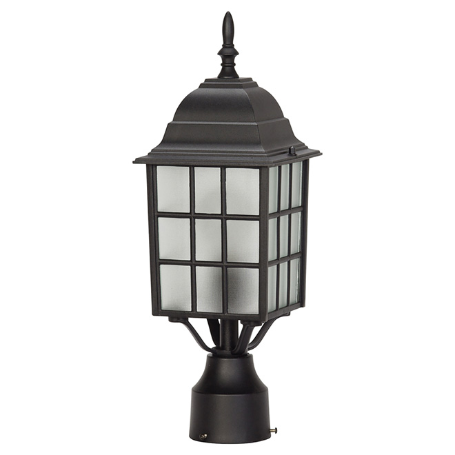Outdoor Post-Mounted Garden Light - 17 1/2""