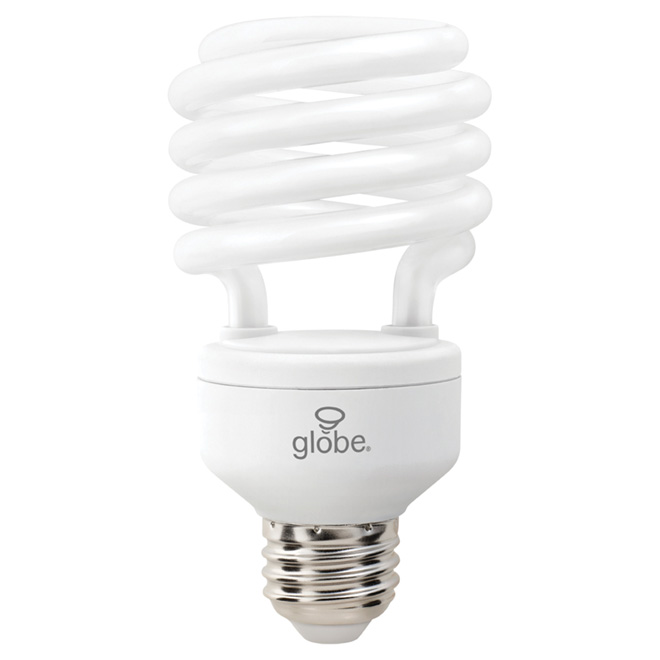 23 W Compact Fluorescent T2 Bulb - 6-Pack - Daylight