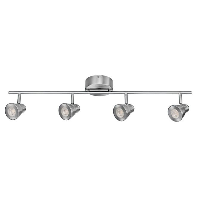 globe luminaire sur rail 4 ampoules del 29 3 4 po. Black Bedroom Furniture Sets. Home Design Ideas