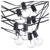 Monaco Light String- Indoor/Outdoor- 25 Lights - G12-E12- 25'
