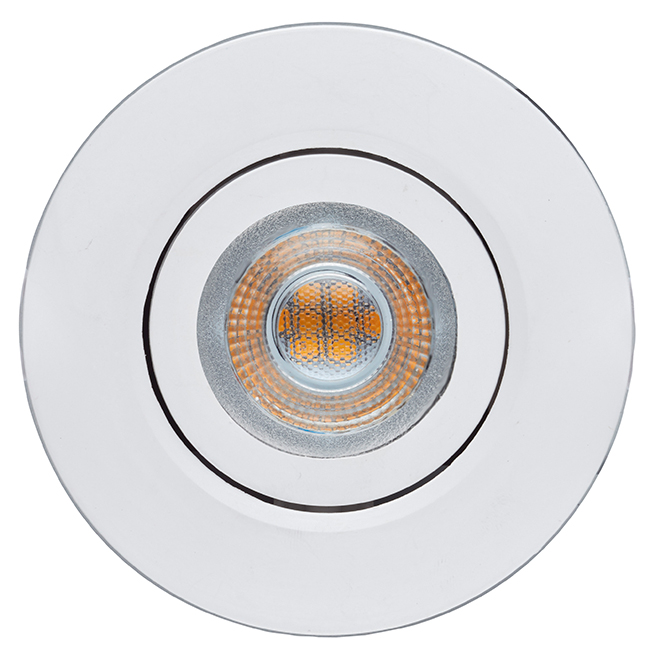 "Ultra Slim LED Recessed Light - 3"" x 5 W - White - 4PK"
