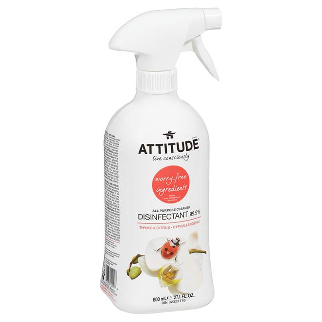 Attitude All Purpose Disenfectant Cleaner - 800 mL