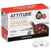 Phosphate-Free Dishwasher Detergent - 26 Pouches