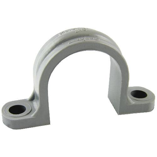 """Conduit Strap - PVC - 2-Hole - 1 1/2"""" - 5/Pk"""