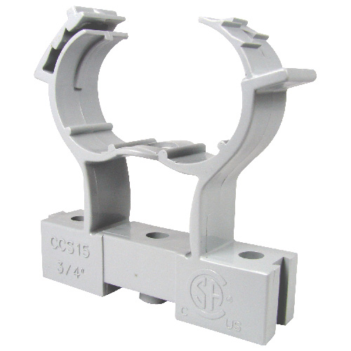 conduit clamp and spacer pvc 1 rona