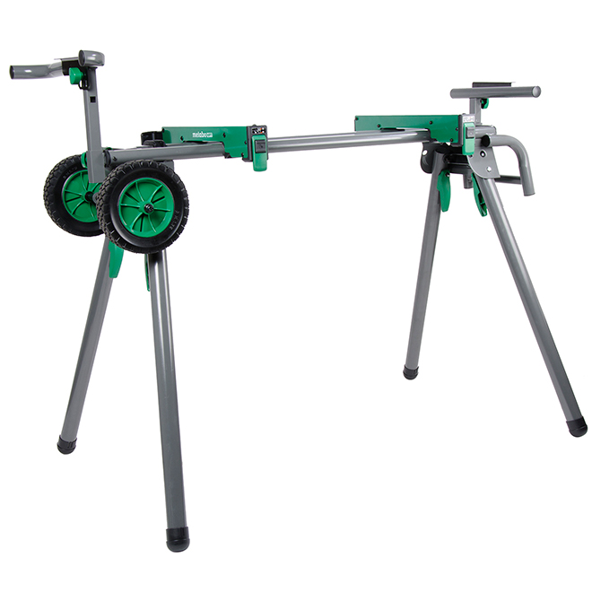 """Mitre Saw Stand - 12"""" Saw Max - 8' - 400 lb Capacity"""