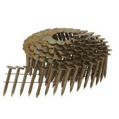 "Electro-Galvanized Nails - Steel - 1.25"" - Set of 7200"